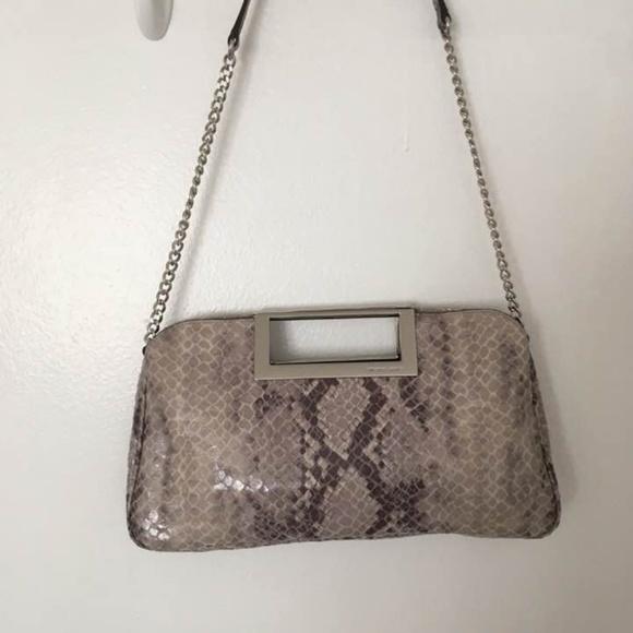dde7608c40e088 Michael Kors Collection Bags | Michael Kors Berkley Snake Skin ...